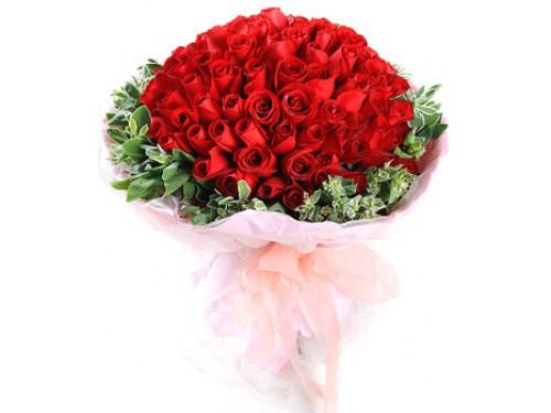 100 Amazing Red Roses
