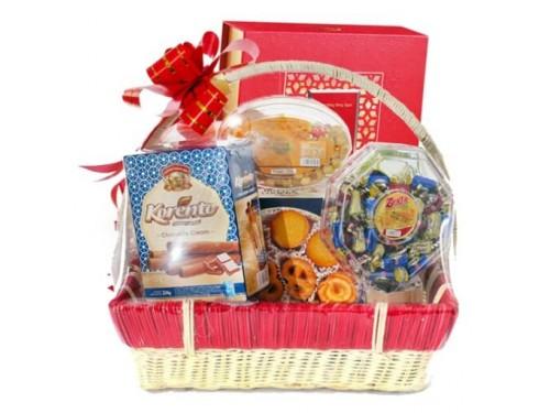 Moon Cake Gift Basket