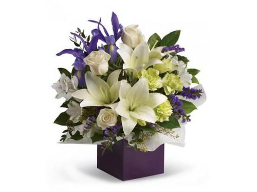 Nice box of Lillies